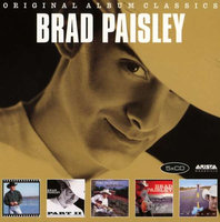 Audio CD Brad Paisley. Original Album Classics(Who Needs Pictures/Part II/Mud on the Tires/Time Well Wasted/ 5th Gear)