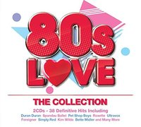 Various Artists. 80's Love-The Collection (2 CD)