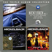 Nickelback. Triple Album Collection Vol.2: All The Right Reasons / Dark Horse / Here And Now (3 CD)