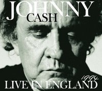 Johnny Cash. Live in England-1994 (CD)