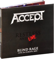 Accept. Restless And Live – Blind Rage Over Europe (2 CD)