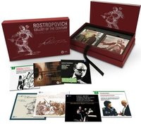 Mstislav Rostropovich - Cellist of the Century. The Complete Warner Recordings (40 CD + 3 DVD)