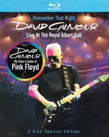 David Gilmour. Remember That Night: Live At The Royal Albert Hall (Blu-Ray)
