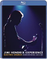 The Jimi Hendrix Experience. Electric Church Atlanta Pop Festival July 4, 1970 (Blu-Ray)