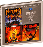 Manowar. The Triple Album Collection: Fighting The World / Kings Of Metal / The Triumph Of Steel (3 CD)