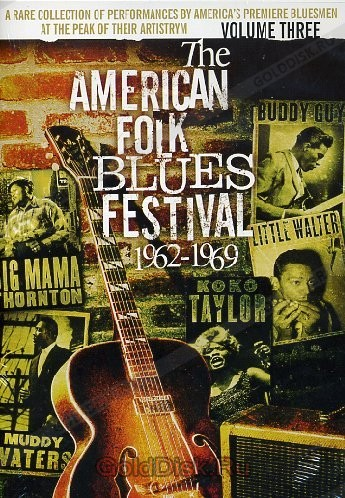 Various - American Folk Blues Festival