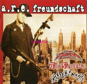 LP The Пауки / The Vendetta / Sick Of Society: A.R.E. Freundschaft («Split») (LP)