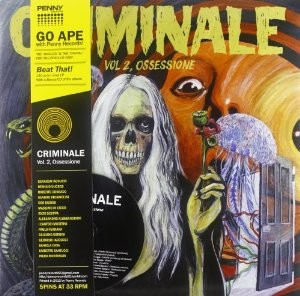 LP Various Artists: Criminale Vol.2 - Ossessione (LP)
