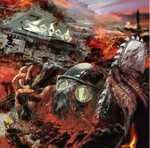 LP Sodom: In War And Pieces (LP)