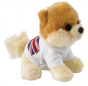 ����� ������� ������: ������ Itty Bitty Boo� In T-Shirt With British Flag, 12,5 ��