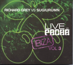 Audio CD Grey Richard VS. Sugiurumn. Live at pacha
