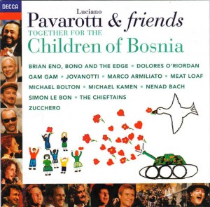 Audio CD Luciano Pavarotti & Friends. For The Children Of Bosnia