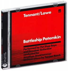 Audio CD Pet Shop Boys. Tennant/Lowe. Battleship Potemkin