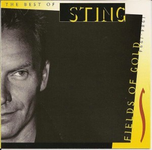 Audio CD Sting. Fields Of Gold. The Best Of Sting