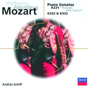 Audio CD András Schiff. Mozart: Piano sonatas K.331, 332 & 333 (����.)