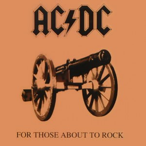 LP AC/DC. For Those About To Rock (LP)