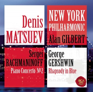 Audio CD Denis Matsuev & The New York Philharmonic. Rachmaninov Piano concerto no. 2 and Gershwin Rhapsody in blue.