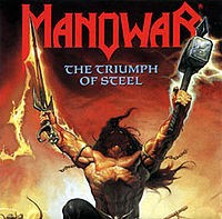 LP Manowar. Triumph Of Steel (LP)