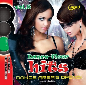 MP3 (CD) Dance Floor Hits. Dance Area's Opens! Vol. 5