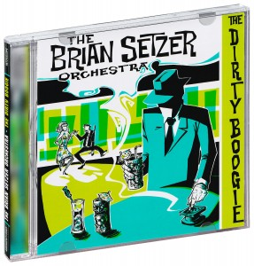 Audio CD The Brian Setzer Orchestra. The dirty boogie