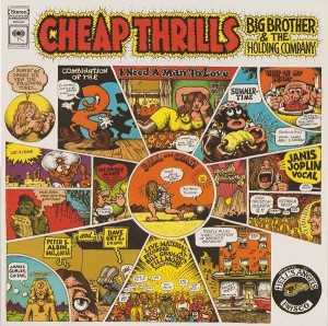 LP Janis Joplin. Cheap Thrills (LP)