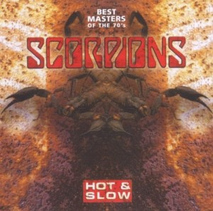 Audio CD Scorpions. Hot & slow. Best masters of the 70's
