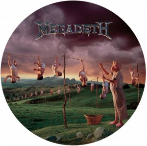 LP Megadeth. Youthanasia (LP)