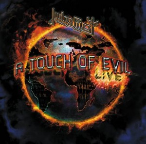 Audio CD Judas Priest. A touch of Evil