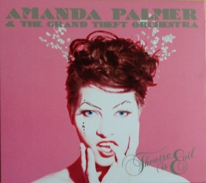 Audio CD Amanda Palmer & The grand theft orchestra. Theatre is evil