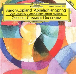 Audio CD Orpheus chamber orchestra. Aaron Copland. Appalachian spring