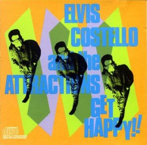LP Elvis Costello And The Attractions. Get Happy!! (LP)