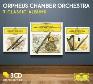 Audio CD Orpheus Chamber Orchestra. Three Classic Albums