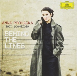 Audio CD Anna Prohaska. Behind The Lines