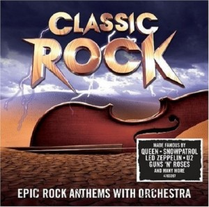 Audio CD The International Classic Rock Orchestra. Classic Rock
