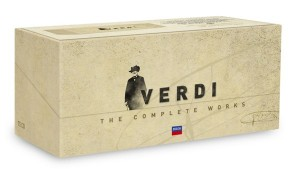 Audio CD Various Artists,Verdi. The Complete Works (Box)