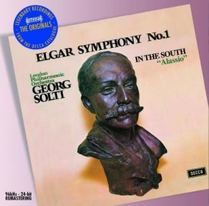 Audio CD Sir Georg Solti. Elgar: Symphony no.1; In the South