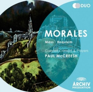 Audio CD Paul McCreesh; Gabrieli Consort. De morales: mass & requiem