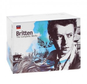 DVD + Audio CD Various Artists. Britten. The Complete Works.