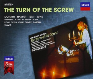 Audio CD Sir Colin Davis. Britten: The Turn Of The Screw