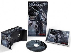 Audio CD Megadeth: Dystopia Deluxe Edition