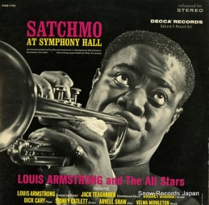 Audio CD Louis Armstrong.Satchmo At Symphony Hall