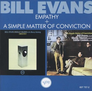 Audio CD Shelly Manne; Bill Evans. Empathy / A Simple Matter Of Conviction