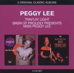 Audio CD Peggy Lee. Basin St. Proudly Presents Peggy Lee / Trav'lin' Light