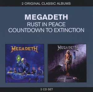 Audio CD Megadeth. Countdown to extinction / Rust in peace