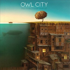 Audio CD Owl City. The Midsummer station