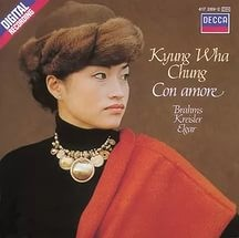 Audio CD Kyung Wha Chung. Con Amore