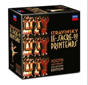 Audio CD Various Artists. Igor Stravinsky. Le Sacre Du Printemps