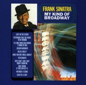 Audio CD Frank Sinatra. My Kind Of Broadway