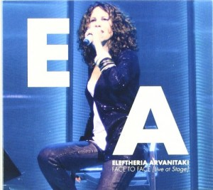 DVD + Audio CD Eleftheria Arvanitaki. Face to face/ Live at stage