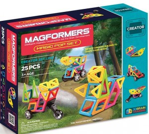 ����� ��������� �����������: Magformers Magic Pop Set 25 ��������� (63130)